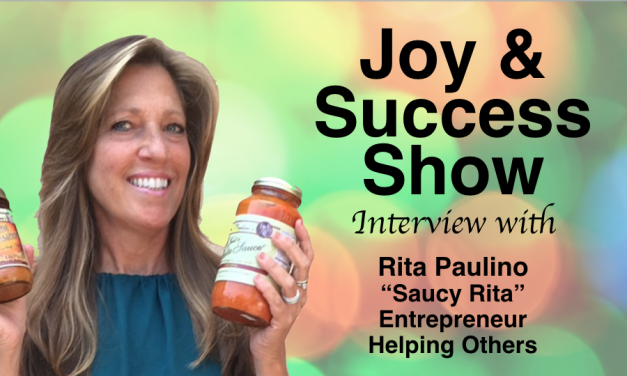 Saucy Rita ON THE JOY & SUCCESS SHOW